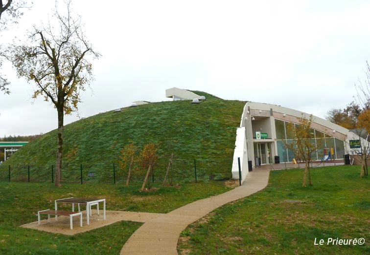 Réalisations de toitures végétalisées en Forte Pente - Le Prieuré ...